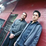 Vijay Iyer & Rudresh Mahanthappa | photo credit: Bill Douthart