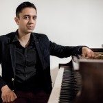 Vijay Iyer photographed in New York City, January 10th, 2014